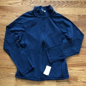 Women's Beyond Yoga Blue ZIP Up Jacket NWT Size M